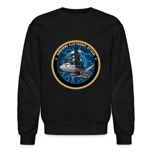 Airborne Electronic Attack EA-18 Growler Cartoon - Crewneck Sweatshirt