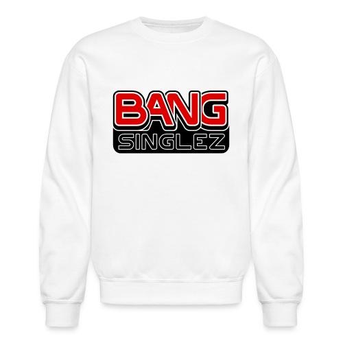 BangSinglez Logo Red - Unisex Crewneck Sweatshirt