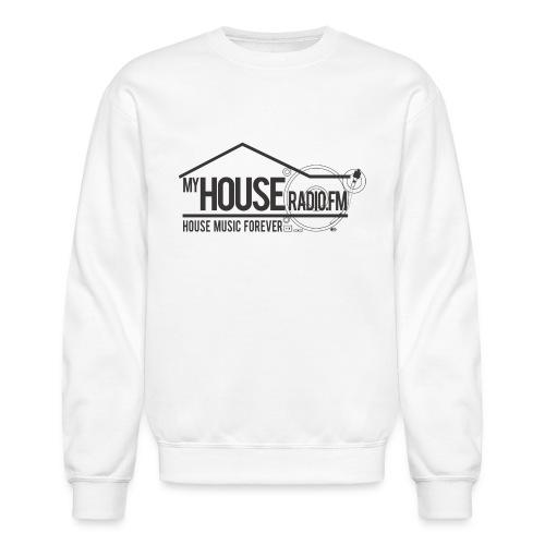 My House Radio Black Logo - Crewneck Sweatshirt