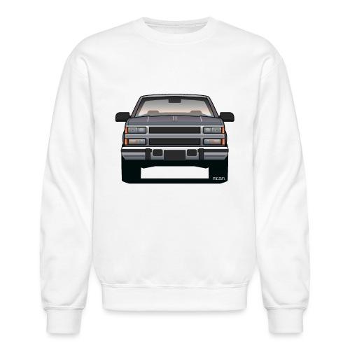 Design Icon: American Bowtie Silver Urban Truck - Crewneck Sweatshirt