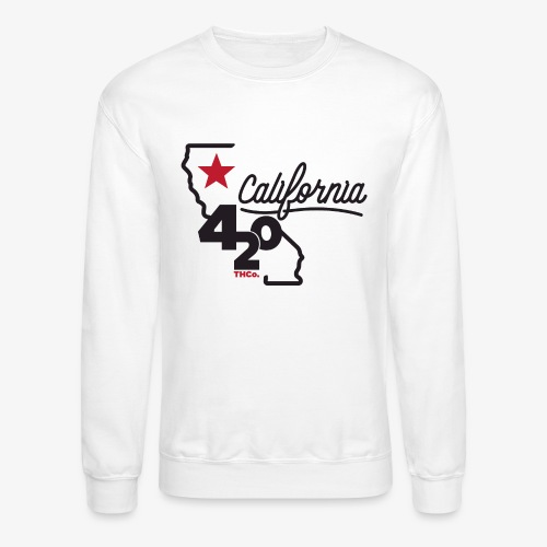 California 420 - Crewneck Sweatshirt