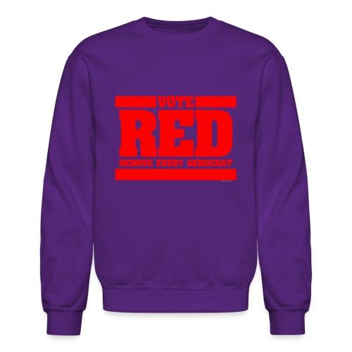 Remove every Democrat - Crewneck Sweatshirt