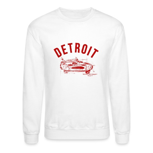 Detroit Art Project - Unisex Crewneck Sweatshirt