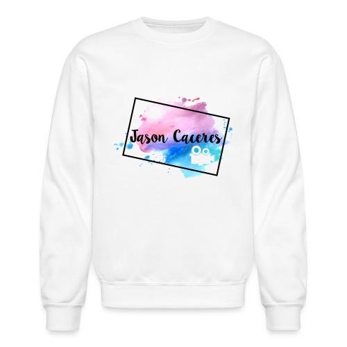 Jason Caceres Opening Intro Logo - Crewneck Sweatshirt