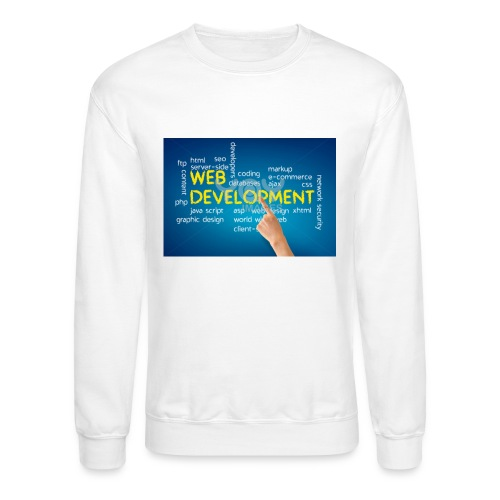 web development design - Crewneck Sweatshirt