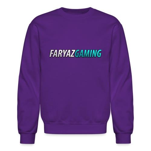FaryazGaming Theme Text - Crewneck Sweatshirt