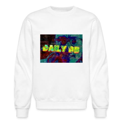 daily db poster - Unisex Crewneck Sweatshirt