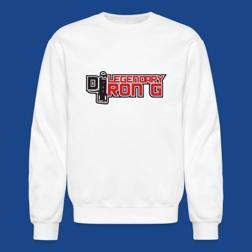 Ron G logo - Crewneck Sweatshirt