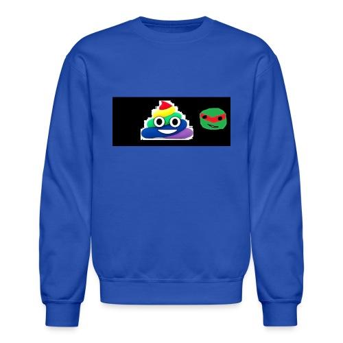 ninja poop - Crewneck Sweatshirt