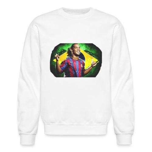 Ronaldinho Brazil/Barca print - Unisex Crewneck Sweatshirt