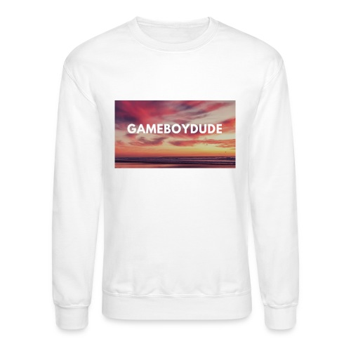 GameBoyDude merch store - Crewneck Sweatshirt