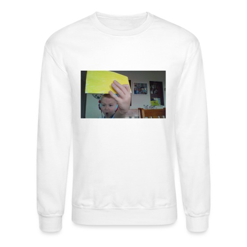 the paper golden shirt - Crewneck Sweatshirt