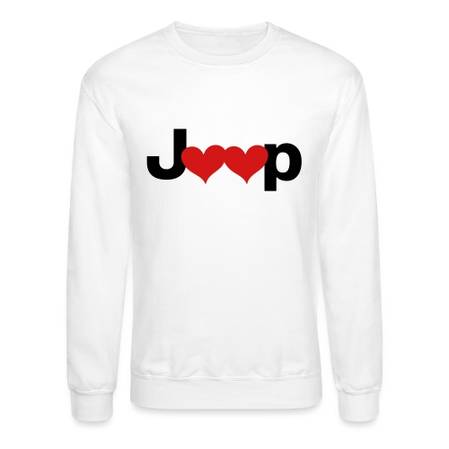 Jeep Love - Crewneck Sweatshirt
