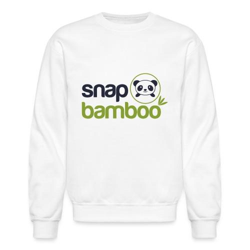 Snap Bamboo Square Logo Branded - Crewneck Sweatshirt