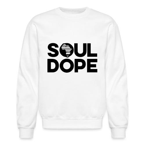souldope Black Logo - Crewneck Sweatshirt