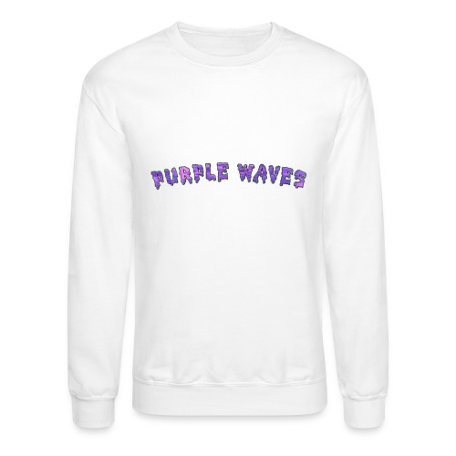 Purple Waves - Crewneck Sweatshirt