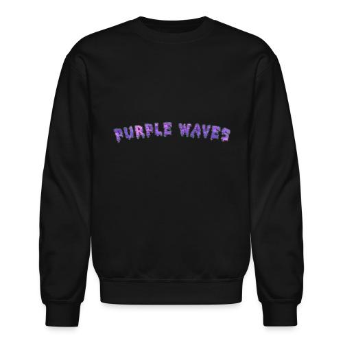 Purple Waves - Crewneck Sweatshirt