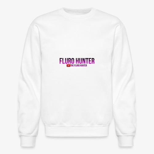 The Fluro Hunter Black And Purple Gradient - Crewneck Sweatshirt