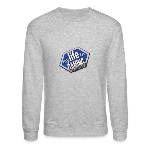 My Life In Gaming sticker - Crewneck Sweatshirt