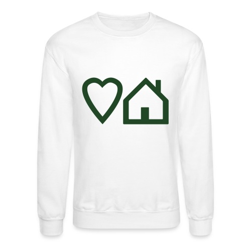 ts-3-love-house-music - Unisex Crewneck Sweatshirt