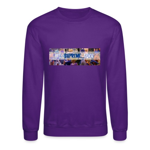 XXI SUPREME GOKU LOGO 2 - Crewneck Sweatshirt