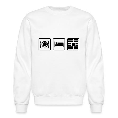 Eat Sleep Urb big fork - Crewneck Sweatshirt