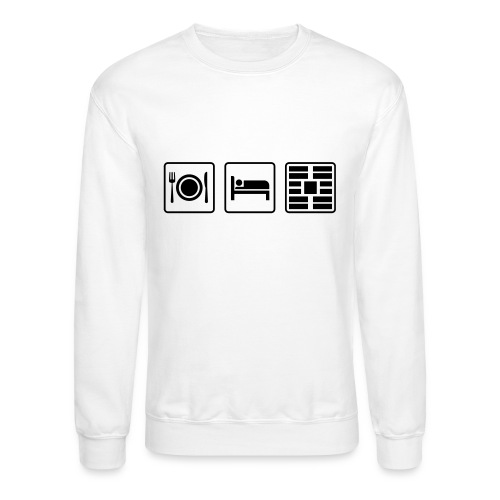 Eat Sleep Urb big fork - Unisex Crewneck Sweatshirt