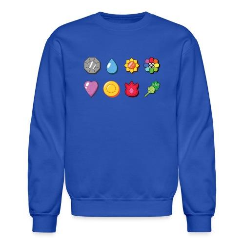 badges - Crewneck Sweatshirt
