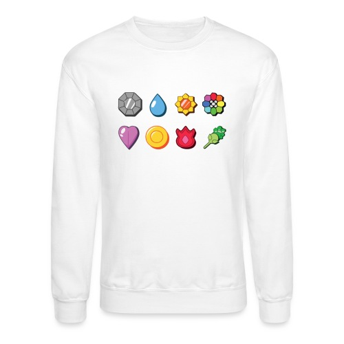 badges - Crewneck Sweatshirt