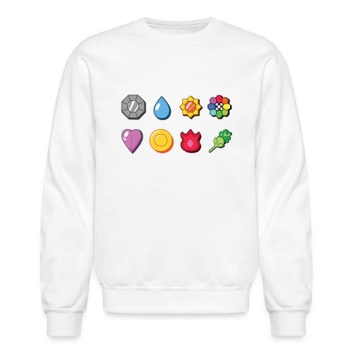 badges - Unisex Crewneck Sweatshirt