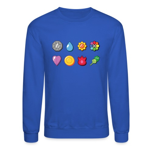 badges - Unisex Crewneck Sweatshirt