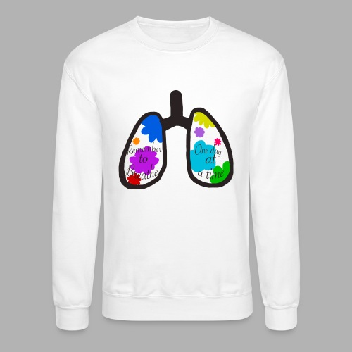 Remember to Breathe - Unisex Crewneck Sweatshirt