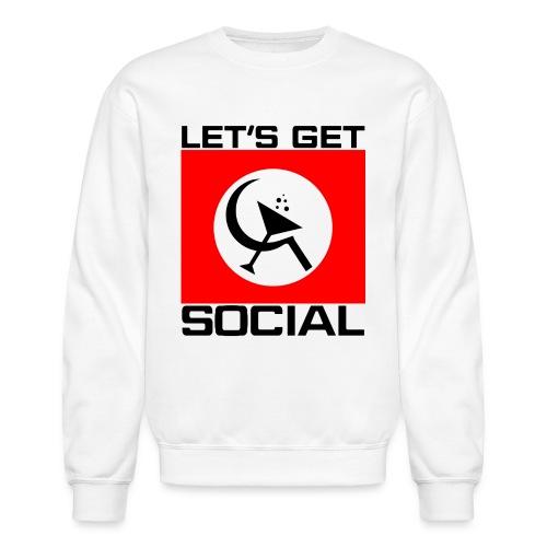 Let's Get Social as worn by Axl Rose - Crewneck Sweatshirt