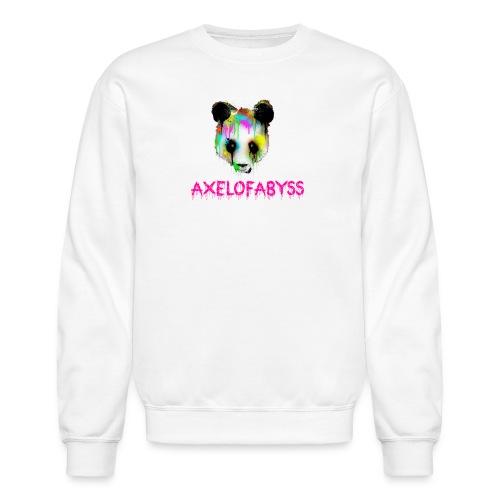 Axelofabyss panda panda paint - Crewneck Sweatshirt