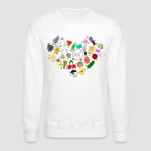 Inanimate Heart Color - Unisex Crewneck Sweatshirt