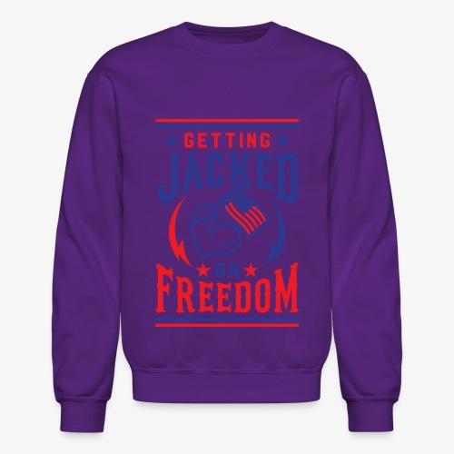Getting Jacked On Freedom - Crewneck Sweatshirt