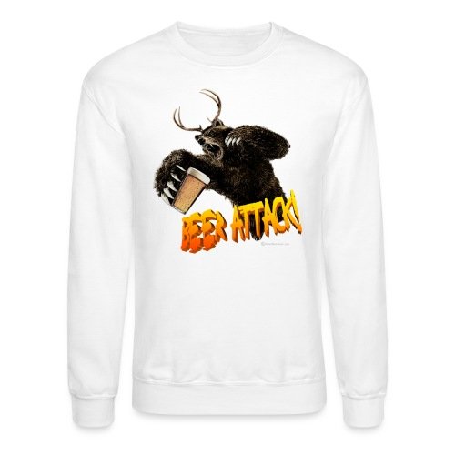 BEER ATTACK! - Crewneck Sweatshirt