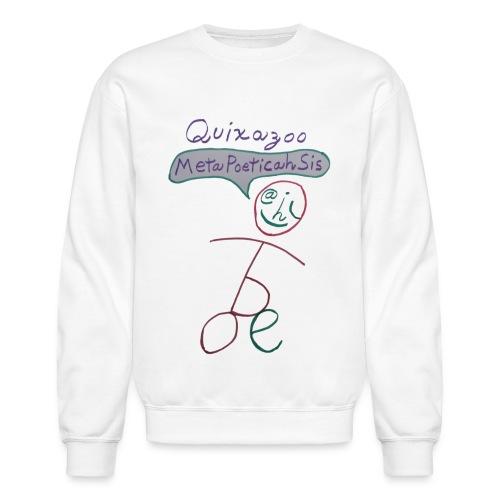 MetaPoeticahSisStick - Unisex Crewneck Sweatshirt