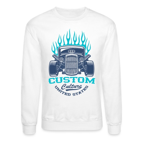 custom car usa - Unisex Crewneck Sweatshirt