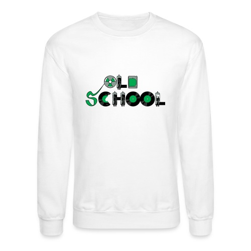 Old School Music - Unisex Crewneck Sweatshirt