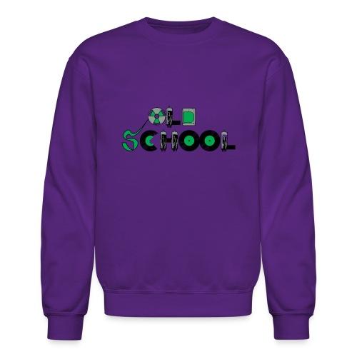 Old School Music - Crewneck Sweatshirt