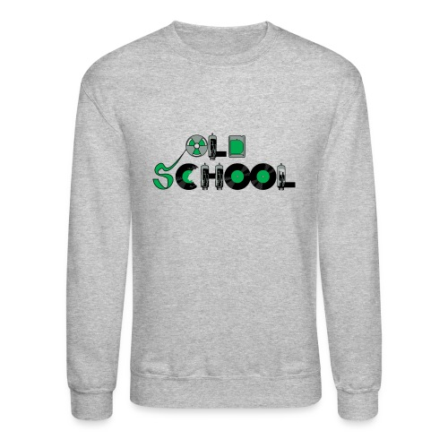 Old School Music - Crewneck Sweatshirt