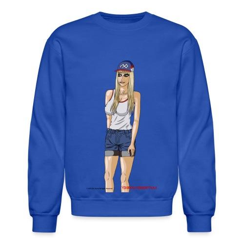 Gina Character Design - Crewneck Sweatshirt