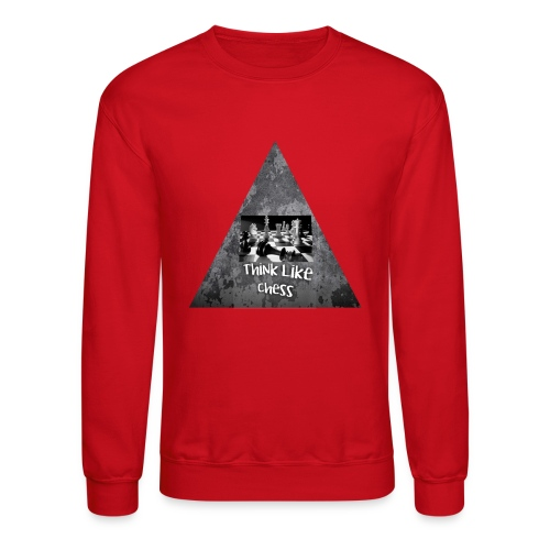 Think Like Chess Logo - Crewneck Sweatshirt