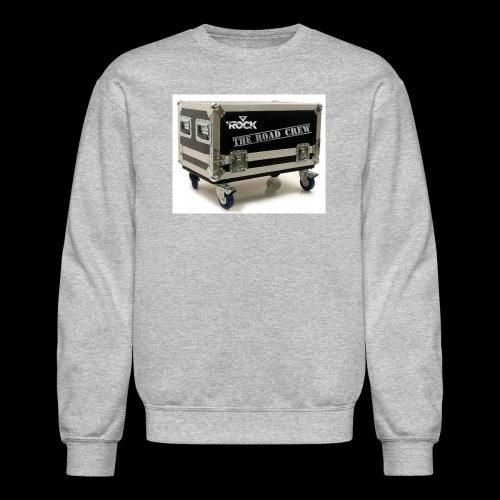 Eye rock road crew Design - Crewneck Sweatshirt