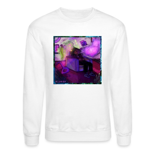 Olumide - Slowed Down & Smoked Out Cover Art - Unisex Crewneck Sweatshirt