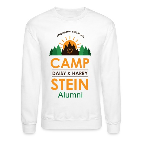 campstein_logo_wAlumni_co - Crewneck Sweatshirt