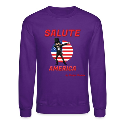 SALUTE AMERICA RED - Crewneck Sweatshirt