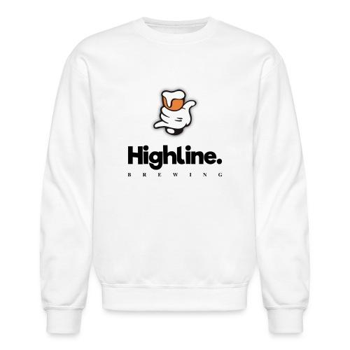 Highline Brewing Logo - Big - Unisex Crewneck Sweatshirt