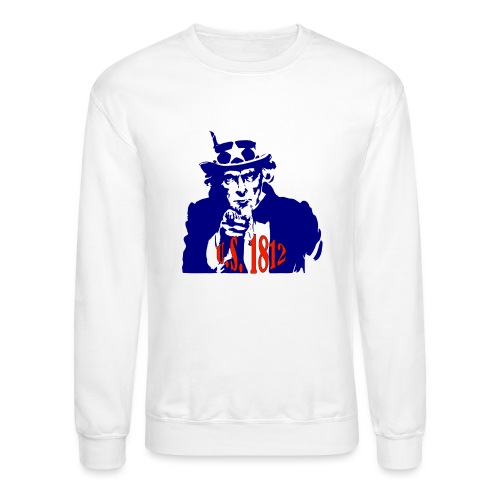 uncle-sam-1812 - Crewneck Sweatshirt